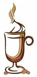 Drink Mug embroidery design