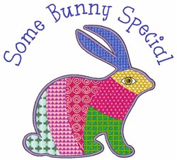Special Bunny embroidery design