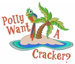 Polly Want a Cracker Embroidery Designs, Machine ...