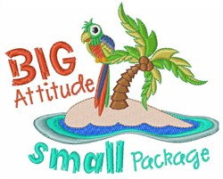 Big Attitude embroidery design