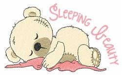 Sleeping Beauty embroidery design