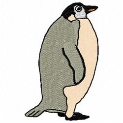 Fat Penguin embroidery design