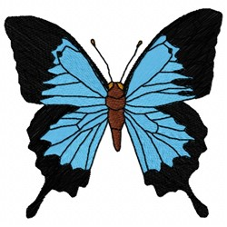 Papilio Butterfly embroidery design