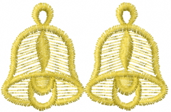 Double Bells embroidery design