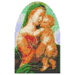 Madonna Cross Stitch embroidery design