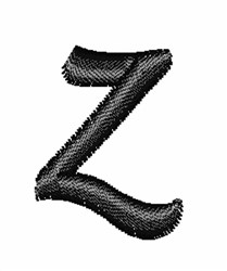 Floral Twirl letters zs embroidery design
