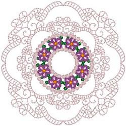Doily embroidery design