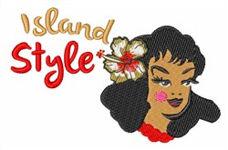 Island Style embroidery design