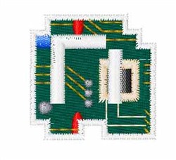 Circuit Board Font n embroidery design