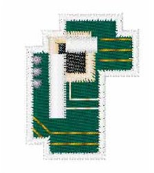 Circuit Board Font r embroidery design
