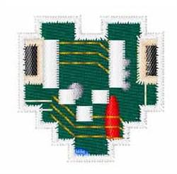 Circuit Board Font v embroidery design