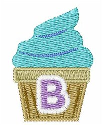 Cupcakes Font B embroidery design