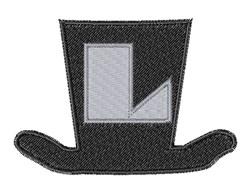 Dapper Hat Font L embroidery design