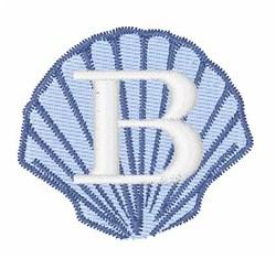 Sea Shells Font B embroidery design