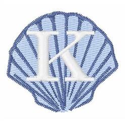 Sea Shells Font K embroidery design