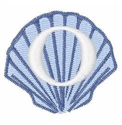 Sea Shells Font O embroidery design