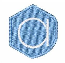 Gemstones Font a embroidery design