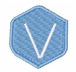 Gemstones Font v embroidery design