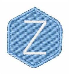 Gemstones Font z embroidery design