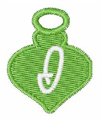 Christmas Ornament Font I embroidery design