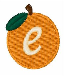Stocking Fruit Font e embroidery design