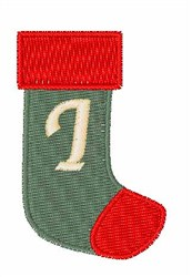 Stocking Font I embroidery design