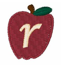 Stocking Fruit Font r embroidery design