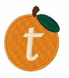 Stocking Fruit Font t embroidery design