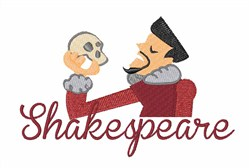 Shapespeare embroidery design