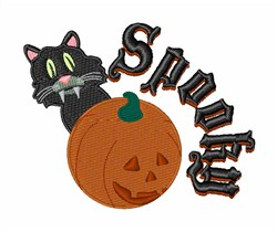 Spooky embroidery design