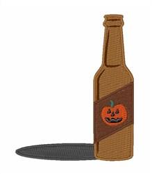 Pumpkin Beer embroidery design