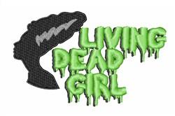 Living Dead Girl embroidery design