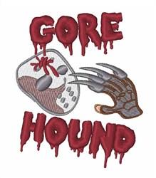 Gore Hound embroidery design