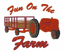 Fun On Farm embroidery design