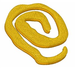 Yellow Sign embroidery design