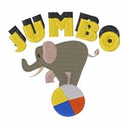 Jumbo Elephant embroidery design