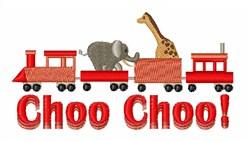 Choo Choo Circus embroidery design