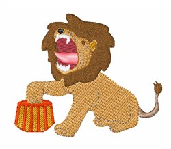 Tame Lion embroidery design