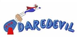 Daredevil Man embroidery design