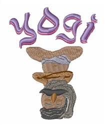 Yogi Expert embroidery design