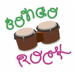 Bongo Rock embroidery design