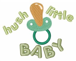Hush Little Baby embroidery design