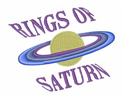 Rings of Saturn embroidery design