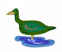 Duck Puddle embroidery design