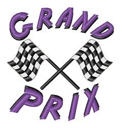 Grand Prix embroidery design