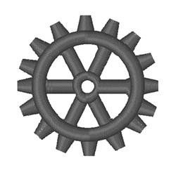 Bike Gear embroidery design