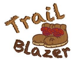 Trail Blazer embroidery design