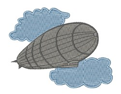 Air Zeppelin embroidery design