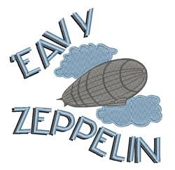 Eavy Zeppelin embroidery design
