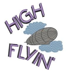 High Flyin embroidery design